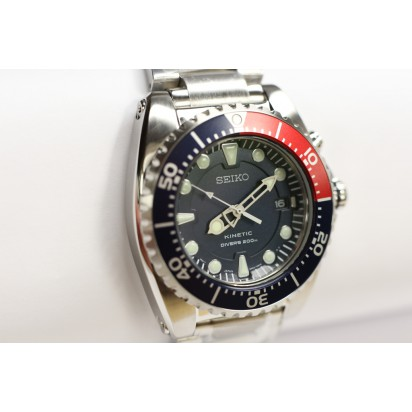 Seiko Kinetic Mens Diver's Watch (SKA369P1)