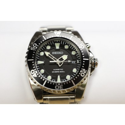 Seiko Kinetic Mens Diver's Watch (SKA371P1)