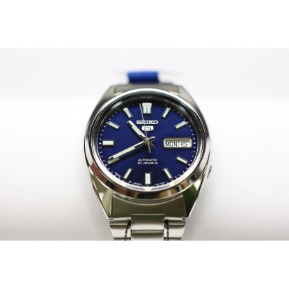 Seiko 5 Automatic Watch Blue Dial SNXS77J1