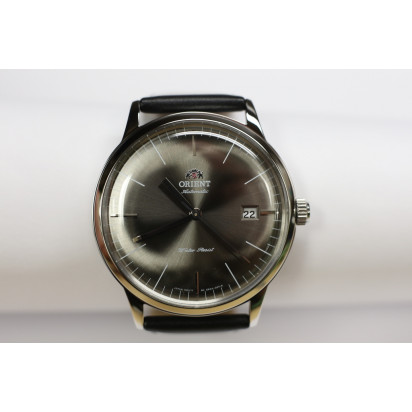 "Orient ""Bambino"" Gray Automatic Mens Watch (ER2400KA)"