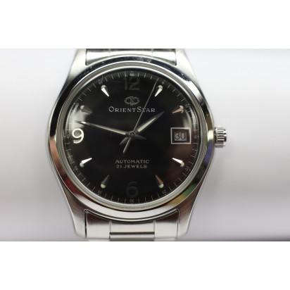 Orient Star Watch Black 34mm (WZ0011NR) Pre-owned