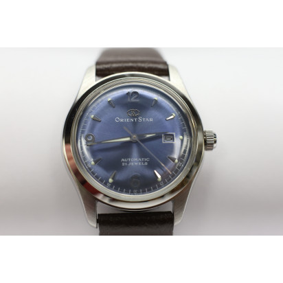 Orient Star Woman's Watch (WZ0011NR) Blue Pre-owned