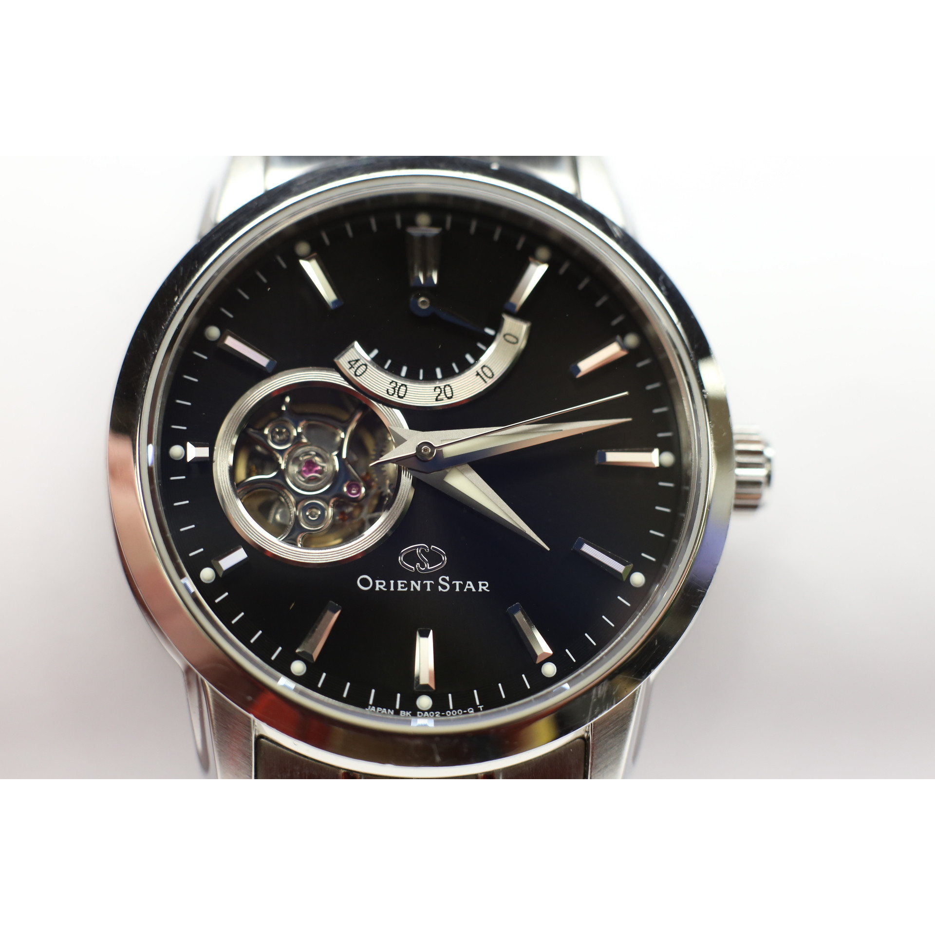 228e58839cb Orient Star Automatic Semi Skeleton Mens Watch (WZ0041DA) Pre-owned