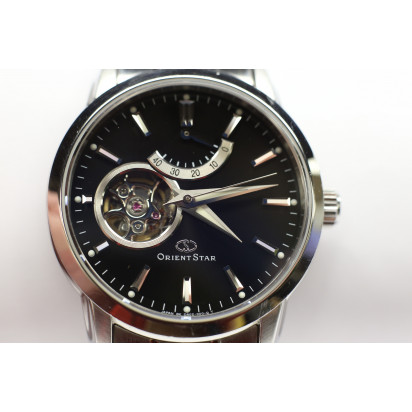 Orient Star Automatic Semi Skeleton Mens Watch (WZ0041DA) Pre-owned