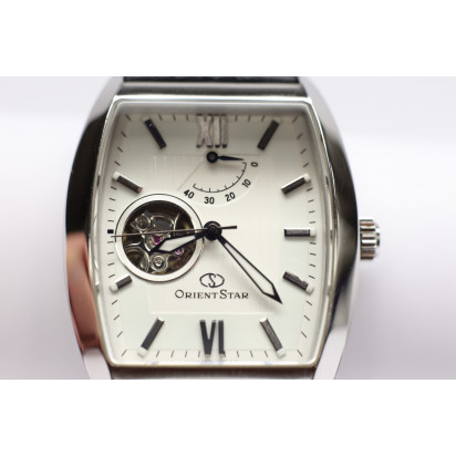 Orient Star Automatic Semi Skeleton Mens Watch (WZ0121DA) Pre-owned