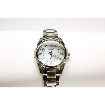 Citizen Eco-Drive Swarovski Crystals Womens Watch (EO1041-54D)