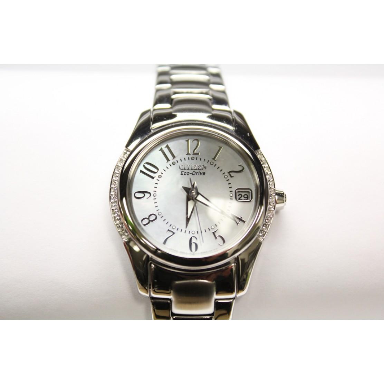 Citizen eco drive swarovski crystals womens watch eo1041 54d for Swarovski crystals watch