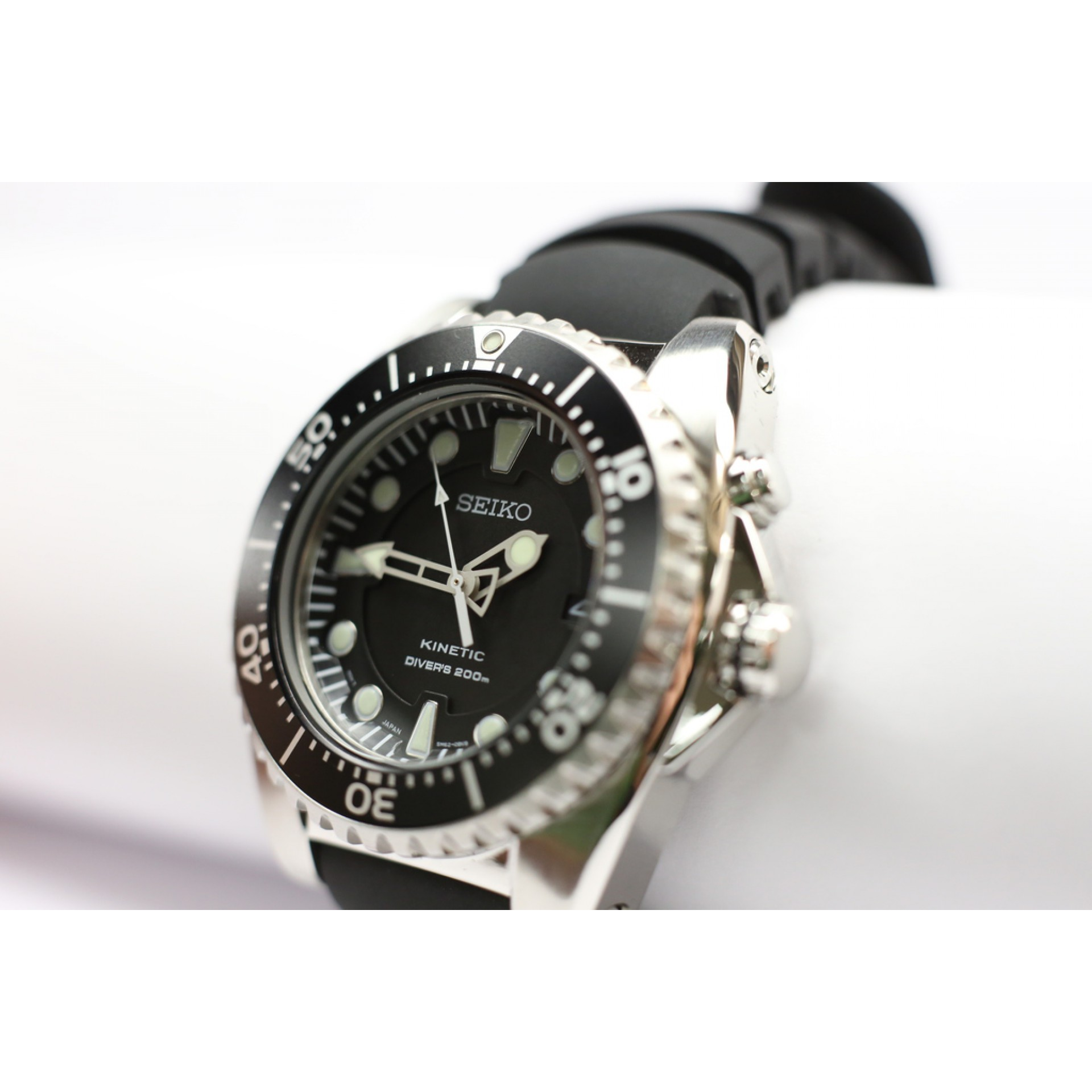 Seiko Kinetic Diver S Watch Ska371p2