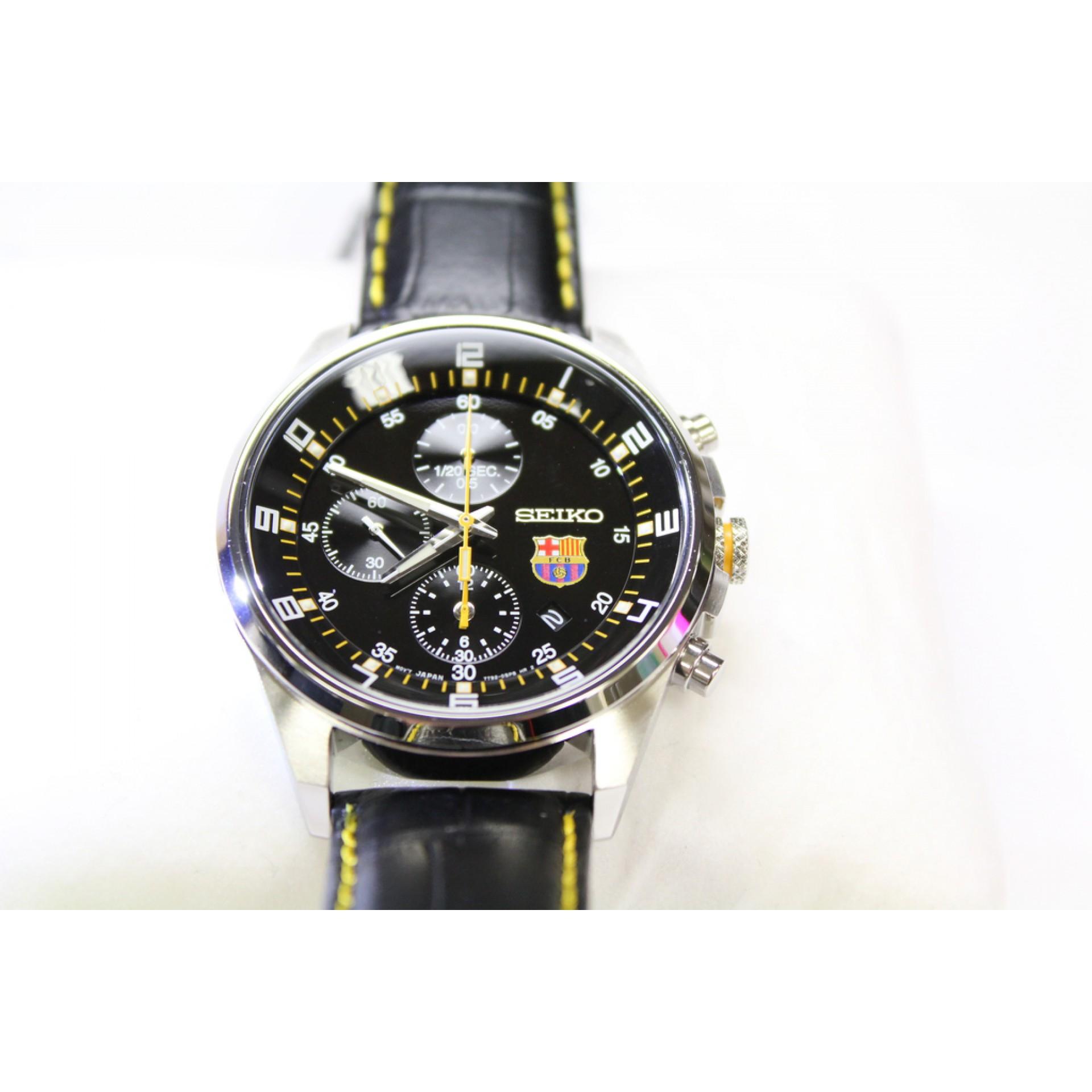 Seiko Chronograph F.C. Barcelona Mens Watch (SNDD25P1) 976336f080